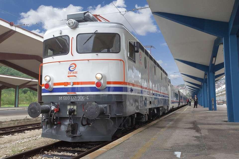 pruga samac sarajevo brigadirski voz vlak